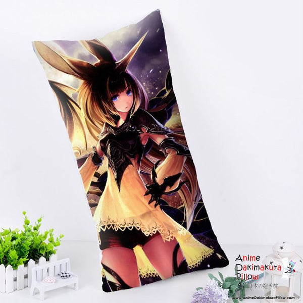 New Rage of Bahamut Anime Dakimakura Rectangle Pillow Cover RPC90 - Anime Dakimakura Pillow Shop | Fast, Free Shipping, Dakimakura Pillow & Cover shop, pillow For sale, Dakimakura Japan Store, Buy Custom Hugging Pillow Cover - 1