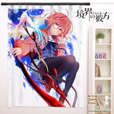 New Kuriyama Mirai - Kyoukai no Kanata Anime Japanese Window Curtain Door Entrance Room Partition H0090 - Anime Dakimakura Pillow Shop | Fast, Free Shipping, Dakimakura Pillow & Cover shop, pillow For sale, Dakimakura Japan Store, Buy Custom Hugging Pillow Cover - 1