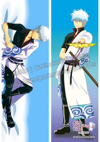 ADP Sakata Gintoki - Gintama Male Anime Dakimakura Japanese Hugging Body Pillow Cover ADP93028