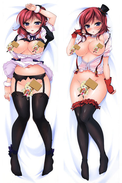 New Love Live! Nishikino Maki Anime Dakimakura Japanese Pillow Cover H2853 - Anime Dakimakura Pillow Shop | Fast, Free Shipping, Dakimakura Pillow & Cover shop, pillow For sale, Dakimakura Japan Store, Buy Custom Hugging Pillow Cover - 1
