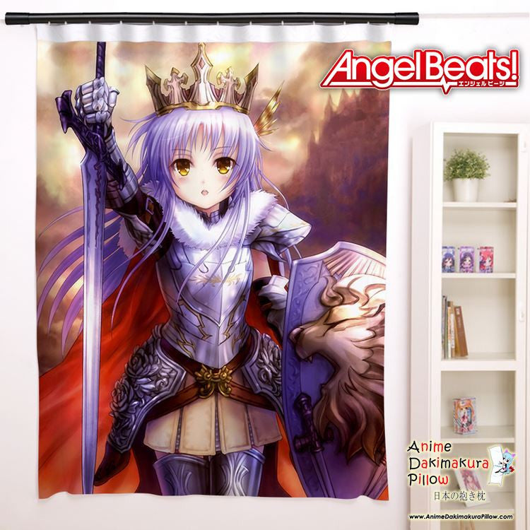 New Kanade Tachibana - Angel Beats Anime Japanese Window Curtain Door Entrance Room Partition H0094