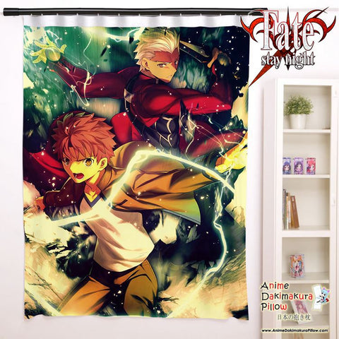 New Fate Stay Night Anime Japanese Window Curtain Door Entrance Room Partition H0095 - Anime Dakimakura Pillow Shop | Fast, Free Shipping, Dakimakura Pillow & Cover shop, pillow For sale, Dakimakura Japan Store, Buy Custom Hugging Pillow Cover - 1