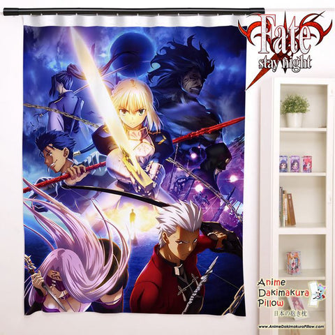 New Fate Stay Night Anime Japanese Window Curtain Door Entrance Room Partition H0098 - Anime Dakimakura Pillow Shop | Fast, Free Shipping, Dakimakura Pillow & Cover shop, pillow For sale, Dakimakura Japan Store, Buy Custom Hugging Pillow Cover - 1