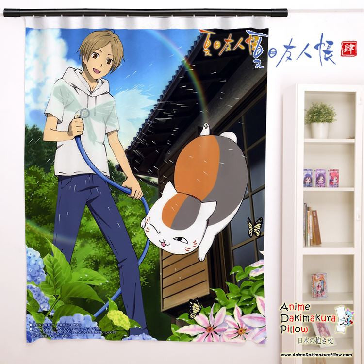 New Natsume's Book of Friends Anime Japanese Window Curtain Door Entrance Room Partition H0099