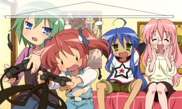 Lucky Star Japanese Anime Wall Scroll Poster and Banner 9