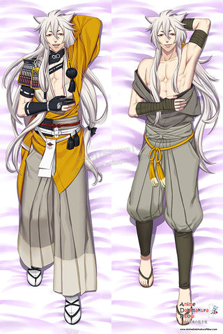 New Kogitsunemaru - Touken Ranbu Male Anime Dakimakura Japanese Pillow Custom Designer Batusawa ADC119 - Anime Dakimakura Pillow Shop | Fast, Free Shipping, Dakimakura Pillow & Cover shop, pillow For sale, Dakimakura Japan Store, Buy Custom Hugging Pillow Cover - 1