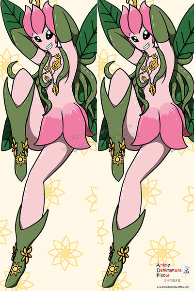 New Lillymon - Digimon Anime Dakimakura Japanese Pillow Cover Custom Designer DragonTamerSuccubus ADC367 - Anime Dakimakura Pillow Shop | Fast, Free Shipping, Dakimakura Pillow & Cover shop, pillow For sale, Dakimakura Japan Store, Buy Custom Hugging Pillow Cover - 1