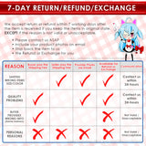 New Vocaloid Anime Dakimakura Japanese Square Pillow Cover Custom Designer Enide ADC489 - Anime Dakimakura Pillow Shop | Fast, Free Shipping, Dakimakura Pillow & Cover shop, pillow For sale, Dakimakura Japan Store, Buy Custom Hugging Pillow Cover - 5