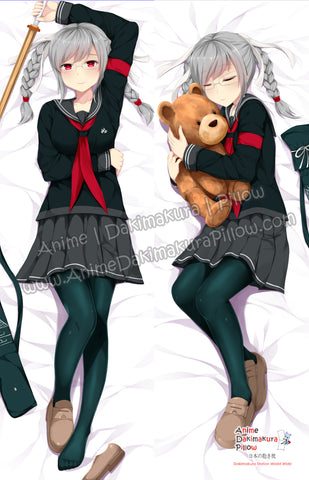 New Peko Pekoyama - Danganronpa Anime Dakimakura Japanese Pillow Cover Custom Designer Grazelz ADC784