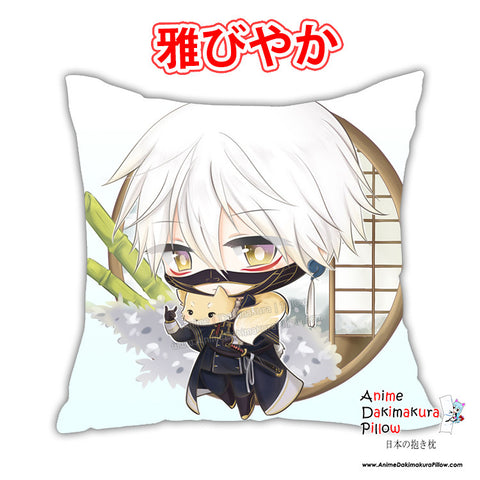 New Nakigitsune - Touken Ranbu Anime Dakimakura Japanese Pillow Cover Custom Designer Akai-Len ADC338 - Anime Dakimakura Pillow Shop | Fast, Free Shipping, Dakimakura Pillow & Cover shop, pillow For sale, Dakimakura Japan Store, Buy Custom Hugging Pillow Cover - 1
