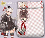 New Amatsukaze Kai - Kantai Collection Japanese Anime Bed Blanket or Duvet Cover with Pillow Covers Blanket 1 - Anime Dakimakura Pillow Shop | Fast, Free Shipping, Dakimakura Pillow & Cover shop, pillow For sale, Dakimakura Japan Store, Buy Custom Hugging Pillow Cover - 1