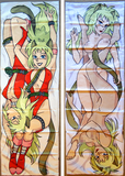 New Dominion Tank Police Puma Twins Unipuma and Annapuma Anime Dakimakura Japanese Pillow Custom Designer Furry Dakimakura ADC28 - Anime Dakimakura Pillow Shop | Fast, Free Shipping, Dakimakura Pillow & Cover shop, pillow For sale, Dakimakura Japan Store, Buy Custom Hugging Pillow Cover - 3
