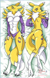 New Renamon Anime Dakimakura Japanese Pillow Custom Designer Furry Dakimakura ADC29 - Anime Dakimakura Pillow Shop | Fast, Free Shipping, Dakimakura Pillow & Cover shop, pillow For sale, Dakimakura Japan Store, Buy Custom Hugging Pillow Cover - 1