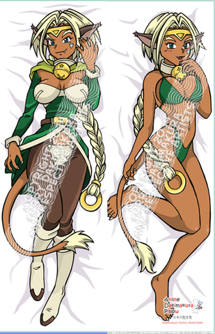New Aisha Anime Dakimakura Japanese Pillow Custom Designer Furry Dakimakura ADC25 - Anime Dakimakura Pillow Shop | Fast, Free Shipping, Dakimakura Pillow & Cover shop, pillow For sale, Dakimakura Japan Store, Buy Custom Hugging Pillow Cover - 1