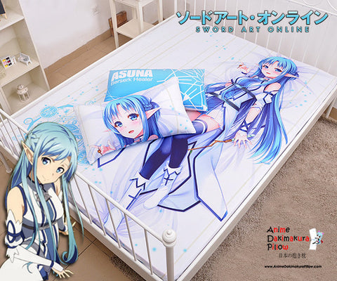 New Asuna - Sword Art Online Japanese Anime Bed Blanket or Duvet Cover with Pillow Covers Blanket 15 - Anime Dakimakura Pillow Shop | Fast, Free Shipping, Dakimakura Pillow & Cover shop, pillow For sale, Dakimakura Japan Store, Buy Custom Hugging Pillow Cover - 1