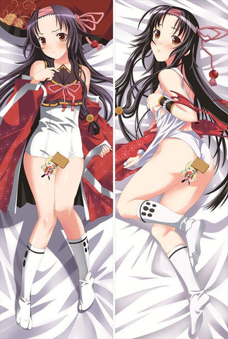 New Hyakka Ryoran Samurai Girls Anime Dakimakura Japanese Pillow Cover BH1 - Anime Dakimakura Pillow Shop | Fast, Free Shipping, Dakimakura Pillow & Cover shop, pillow For sale, Dakimakura Japan Store, Buy Custom Hugging Pillow Cover - 1