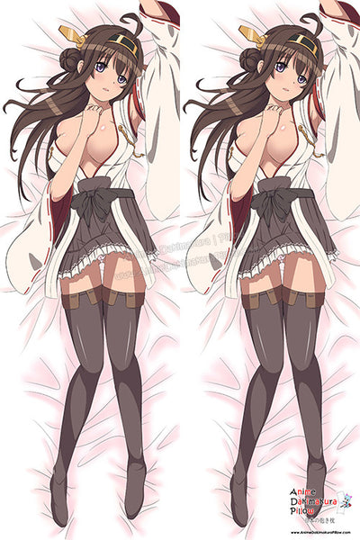 New Kongou - Kantai Collection Anime Dakimakura Japanese Pillow Cover Custom Designer BloodyJuicy ADC277