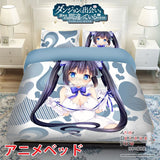 New Hestia - DanMachi Japanese Anime Bed Blanket or Duvet Cover with Pillow Covers ADP-CP150002 - Anime Dakimakura Pillow Shop | Fast, Free Shipping, Dakimakura Pillow & Cover shop, pillow For sale, Dakimakura Japan Store, Buy Custom Hugging Pillow Cover - 1