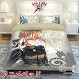 New Saber - Fate Stay Night Japanese Anime Bed Blanket or Duvet Cover with Pillow Covers ADP-CP150007 - Anime Dakimakura Pillow Shop | Fast, Free Shipping, Dakimakura Pillow & Cover shop, pillow For sale, Dakimakura Japan Store, Buy Custom Hugging Pillow Cover - 1