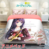 New Reina Kousaka - Sound Euphonium Japanese Anime Bed Blanket or Duvet Cover with Pillow Covers ADP-CP150022 - Anime Dakimakura Pillow Shop | Fast, Free Shipping, Dakimakura Pillow & Cover shop, pillow For sale, Dakimakura Japan Store, Buy Custom Hugging Pillow Cover - 1