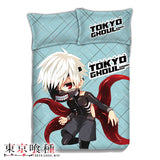 New Ken Kaneki - Tokyo Ghoul Japanese Anime Bed Blanket or Duvet Cover with Pillow Covers ADP-CP151201 - Anime Dakimakura Pillow Shop | Fast, Free Shipping, Dakimakura Pillow & Cover shop, pillow For sale, Dakimakura Japan Store, Buy Custom Hugging Pillow Cover - 1