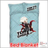 New Ken Kaneki - Tokyo Ghoul Japanese Anime Bed Blanket or Duvet Cover with Pillow Covers ADP-CP151201 - Anime Dakimakura Pillow Shop | Fast, Free Shipping, Dakimakura Pillow & Cover shop, pillow For sale, Dakimakura Japan Store, Buy Custom Hugging Pillow Cover - 2