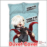 New Ken Kaneki - Tokyo Ghoul Japanese Anime Bed Blanket or Duvet Cover with Pillow Covers ADP-CP151201 - Anime Dakimakura Pillow Shop | Fast, Free Shipping, Dakimakura Pillow & Cover shop, pillow For sale, Dakimakura Japan Store, Buy Custom Hugging Pillow Cover - 3