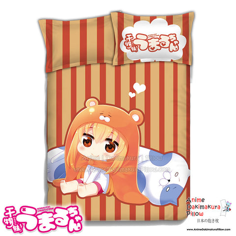 New Umaru Doma - Himouto Umaru Chan Japanese Anime Bed Blanket or Duvet Cover with Pillow Covers ADP-CP151202 - Anime Dakimakura Pillow Shop | Fast, Free Shipping, Dakimakura Pillow & Cover shop, pillow For sale, Dakimakura Japan Store, Buy Custom Hugging Pillow Cover - 1