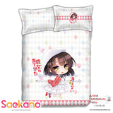 New Megumi Kato - SaeKano Japanese Anime Bed Blanket or Duvet Cover with Pillow Covers ADP-CP151203 - Anime Dakimakura Pillow Shop | Fast, Free Shipping, Dakimakura Pillow & Cover shop, pillow For sale, Dakimakura Japan Store, Buy Custom Hugging Pillow Cover - 1