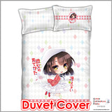 New Megumi Kato - SaeKano Japanese Anime Bed Blanket or Duvet Cover with Pillow Covers ADP-CP151203 - Anime Dakimakura Pillow Shop | Fast, Free Shipping, Dakimakura Pillow & Cover shop, pillow For sale, Dakimakura Japan Store, Buy Custom Hugging Pillow Cover - 3