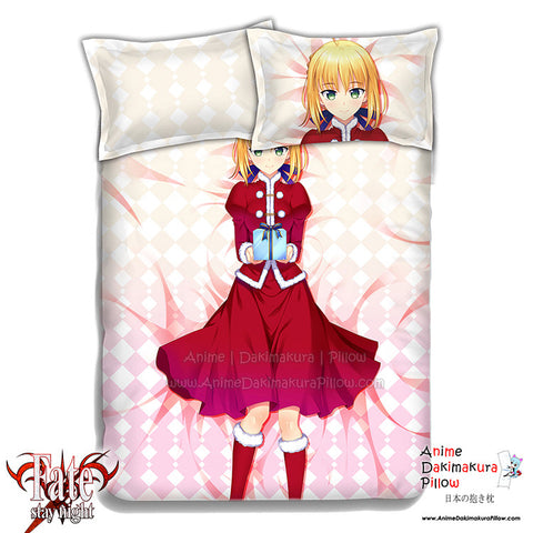 New Saber - Fate Stay Night Japanese Anime Bed Blanket or Duvet Cover with Pillow Covers ADP-CP151207 - Anime Dakimakura Pillow Shop | Fast, Free Shipping, Dakimakura Pillow & Cover shop, pillow For sale, Dakimakura Japan Store, Buy Custom Hugging Pillow Cover - 1