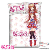 New Umaru Doma - Himouto Umaru Chan Japanese Anime Bed Blanket or Duvet Cover with Pillow Covers ADP-CP151208 - Anime Dakimakura Pillow Shop | Fast, Free Shipping, Dakimakura Pillow & Cover shop, pillow For sale, Dakimakura Japan Store, Buy Custom Hugging Pillow Cover - 1
