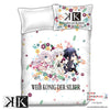 New K Project Japanese Anime Bed Blanket or Duvet Cover with Pillow Covers ADP-CP151210 - Anime Dakimakura Pillow Shop | Fast, Free Shipping, Dakimakura Pillow & Cover shop, pillow For sale, Dakimakura Japan Store, Buy Custom Hugging Pillow Cover - 1