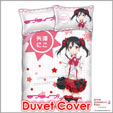 New Nico Yazawa - Love Live Japanese Anime Bed Blanket or Duvet Cover with Pillow Covers ADP-CP151211 - Anime Dakimakura Pillow Shop | Fast, Free Shipping, Dakimakura Pillow & Cover shop, pillow For sale, Dakimakura Japan Store, Buy Custom Hugging Pillow Cover - 3