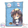 New Yukino Yukinoshita - My Teen Romantic Comedy Japanese Anime Bed Blanket or Duvet Cover with Pillow Covers ADP-CP151212 - Anime Dakimakura Pillow Shop | Fast, Free Shipping, Dakimakura Pillow & Cover shop, pillow For sale, Dakimakura Japan Store, Buy Custom Hugging Pillow Cover - 1