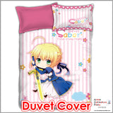 New Saber - Fate Stay Night Japanese Anime Bed Blanket or Duvet Cover with Pillow Covers ADP-CP151213 - Anime Dakimakura Pillow Shop | Fast, Free Shipping, Dakimakura Pillow & Cover shop, pillow For sale, Dakimakura Japan Store, Buy Custom Hugging Pillow Cover - 3