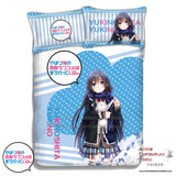 New Yukino Yukinoshita - My Teen Romantic Comedy Japanese Anime Bed Blanket or Duvet Cover with Pillow Covers ADP-CP151218 - Anime Dakimakura Pillow Shop | Fast, Free Shipping, Dakimakura Pillow & Cover shop, pillow For sale, Dakimakura Japan Store, Buy Custom Hugging Pillow Cover - 1