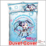 New Miku Hatsune - Vocaloid Japanese Anime Bed Blanket or Duvet Cover with Pillow Covers ADP-CP151223 - Anime Dakimakura Pillow Shop | Fast, Free Shipping, Dakimakura Pillow & Cover shop, pillow For sale, Dakimakura Japan Store, Buy Custom Hugging Pillow Cover - 3