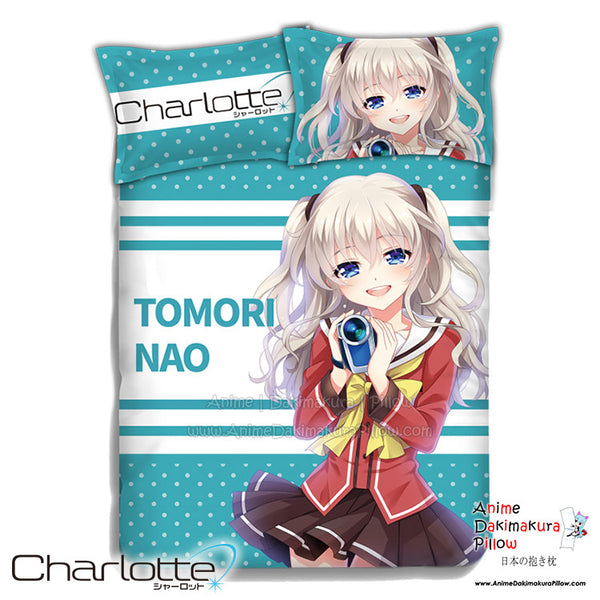New Charlotte Japanese Anime Bed Blanket or Duvet Cover with Pillow Covers ADP-CP151224 - Anime Dakimakura Pillow Shop | Fast, Free Shipping, Dakimakura Pillow & Cover shop, pillow For sale, Dakimakura Japan Store, Buy Custom Hugging Pillow Cover - 1