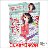 New Megumi Kato - SaeKano Japanese Anime Bed Blanket or Duvet Cover with Pillow Covers ADP-CP151225 - Anime Dakimakura Pillow Shop | Fast, Free Shipping, Dakimakura Pillow & Cover shop, pillow For sale, Dakimakura Japan Store, Buy Custom Hugging Pillow Cover - 3
