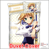 New Saber - Fate Stay Night Japanese Anime Bed Blanket or Duvet Cover with Pillow Covers ADP-CP151226 - Anime Dakimakura Pillow Shop | Fast, Free Shipping, Dakimakura Pillow & Cover shop, pillow For sale, Dakimakura Japan Store, Buy Custom Hugging Pillow Cover - 2