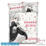 New Sora Kasugano - Yosuga no Sora Japanese Anime Bed Blanket or Duvet Cover with Pillow Covers ADP-CP151228 - Anime Dakimakura Pillow Shop | Fast, Free Shipping, Dakimakura Pillow & Cover shop, pillow For sale, Dakimakura Japan Store, Buy Custom Hugging Pillow Cover - 1