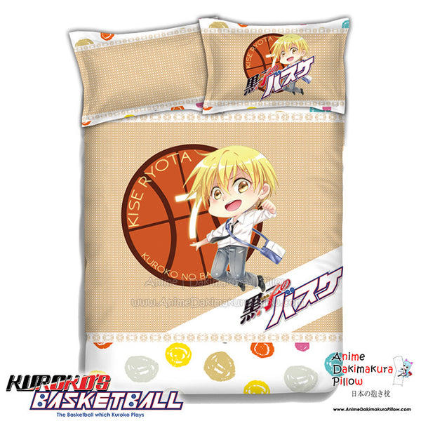 New Kise Ryota - Kuroko no Basket Japanese Anime Bed Blanket or Duvet Cover with Pillow Covers ADP-CP151229