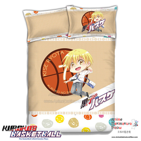 New Kise Ryota - Kuroko no Basket Japanese Anime Bed Blanket or Duvet Cover with Pillow Covers ADP-CP151229 - Anime Dakimakura Pillow Shop | Fast, Free Shipping, Dakimakura Pillow & Cover shop, pillow For sale, Dakimakura Japan Store, Buy Custom Hugging Pillow Cover - 1