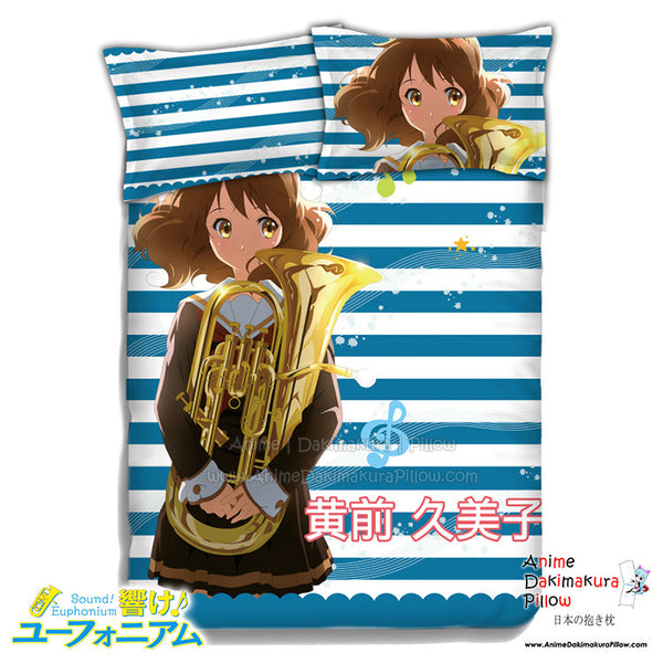 New Kumiko Oumae - Sound Euphonium Japanese Anime Bed Blanket or Duvet Cover with Pillow Covers ADP-CP151230