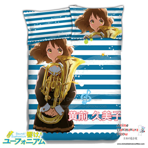 New Kumiko Oumae - Sound Euphonium Japanese Anime Bed Blanket or Duvet Cover with Pillow Covers ADP-CP151230 - Anime Dakimakura Pillow Shop | Fast, Free Shipping, Dakimakura Pillow & Cover shop, pillow For sale, Dakimakura Japan Store, Buy Custom Hugging Pillow Cover - 1