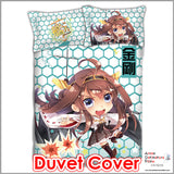 New Kongou - Kantai Collection Japanese Anime Bed Blanket or Duvet Cover with Pillow Covers ADP-CP151231 - Anime Dakimakura Pillow Shop | Fast, Free Shipping, Dakimakura Pillow & Cover shop, pillow For sale, Dakimakura Japan Store, Buy Custom Hugging Pillow Cover - 3