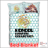New Kongou - Kantai Collection Japanese Anime Bed Blanket or Duvet Cover with Pillow Covers ADP-CP151231 - Anime Dakimakura Pillow Shop | Fast, Free Shipping, Dakimakura Pillow & Cover shop, pillow For sale, Dakimakura Japan Store, Buy Custom Hugging Pillow Cover - 2