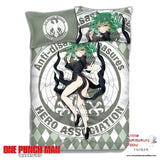 New Tornado of Terror Tatsumaki - One Punch Man Japanese Anime Bed Blanket or Duvet Cover with Pillow Covers ADP-CP151234 - Anime Dakimakura Pillow Shop | Fast, Free Shipping, Dakimakura Pillow & Cover shop, pillow For sale, Dakimakura Japan Store, Buy Custom Hugging Pillow Cover - 1