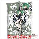 New Tornado of Terror Tatsumaki - One Punch Man Japanese Anime Bed Blanket or Duvet Cover with Pillow Covers ADP-CP151234 - Anime Dakimakura Pillow Shop | Fast, Free Shipping, Dakimakura Pillow & Cover shop, pillow For sale, Dakimakura Japan Store, Buy Custom Hugging Pillow Cover - 3